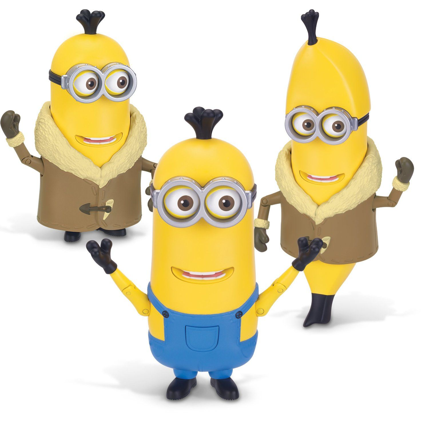 Minions Deluxe Arctic Kevin/Banana Action Figure Only $3.46