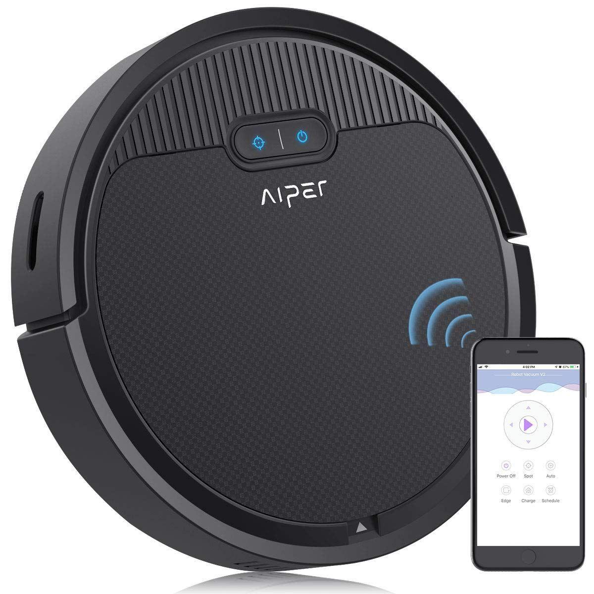 Aiper Robot Vacuum Vacuums, App control