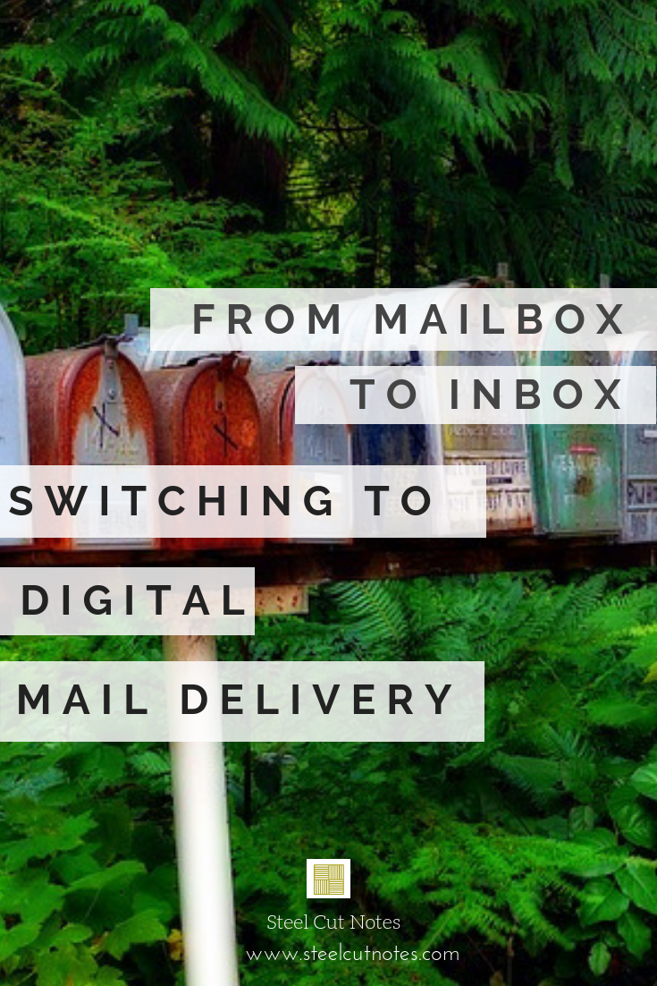 Virtual (or digital) mailboxes unlink your physical address