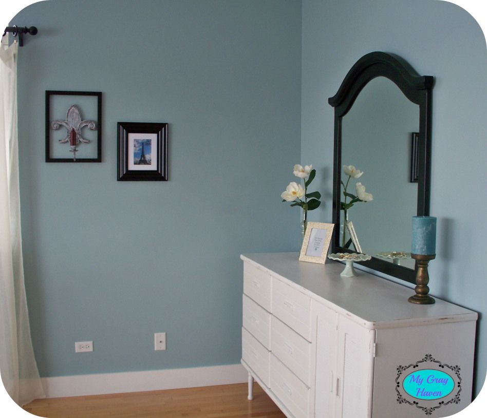 Sherwin williams rain home decor remodeling pinterest rain bedrooms and room - Bed room color for girls ...