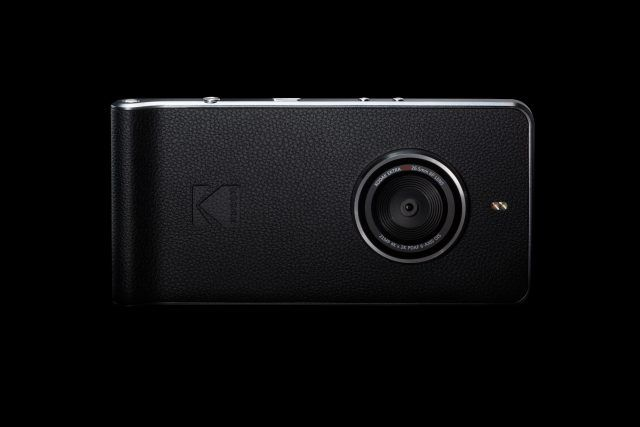 The Kodak Ektra features a 5-inch 1080p display and a 21MP main camera