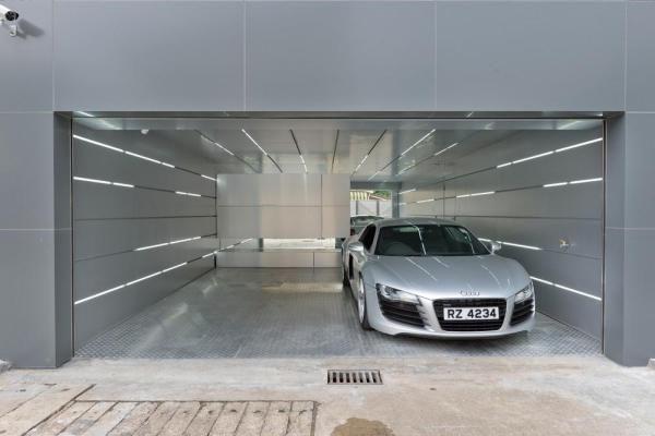 50 Garage Lighting Ideas For Men Cool Ceiling Fixture