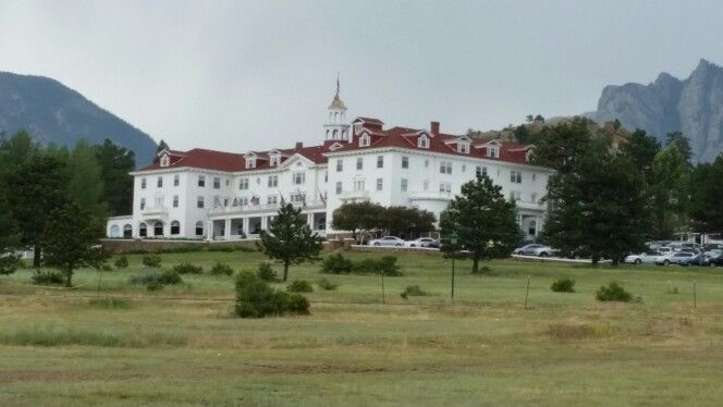 The famous Stanley Hotel in Estes Park Colorado,  the ghost  tour is fun