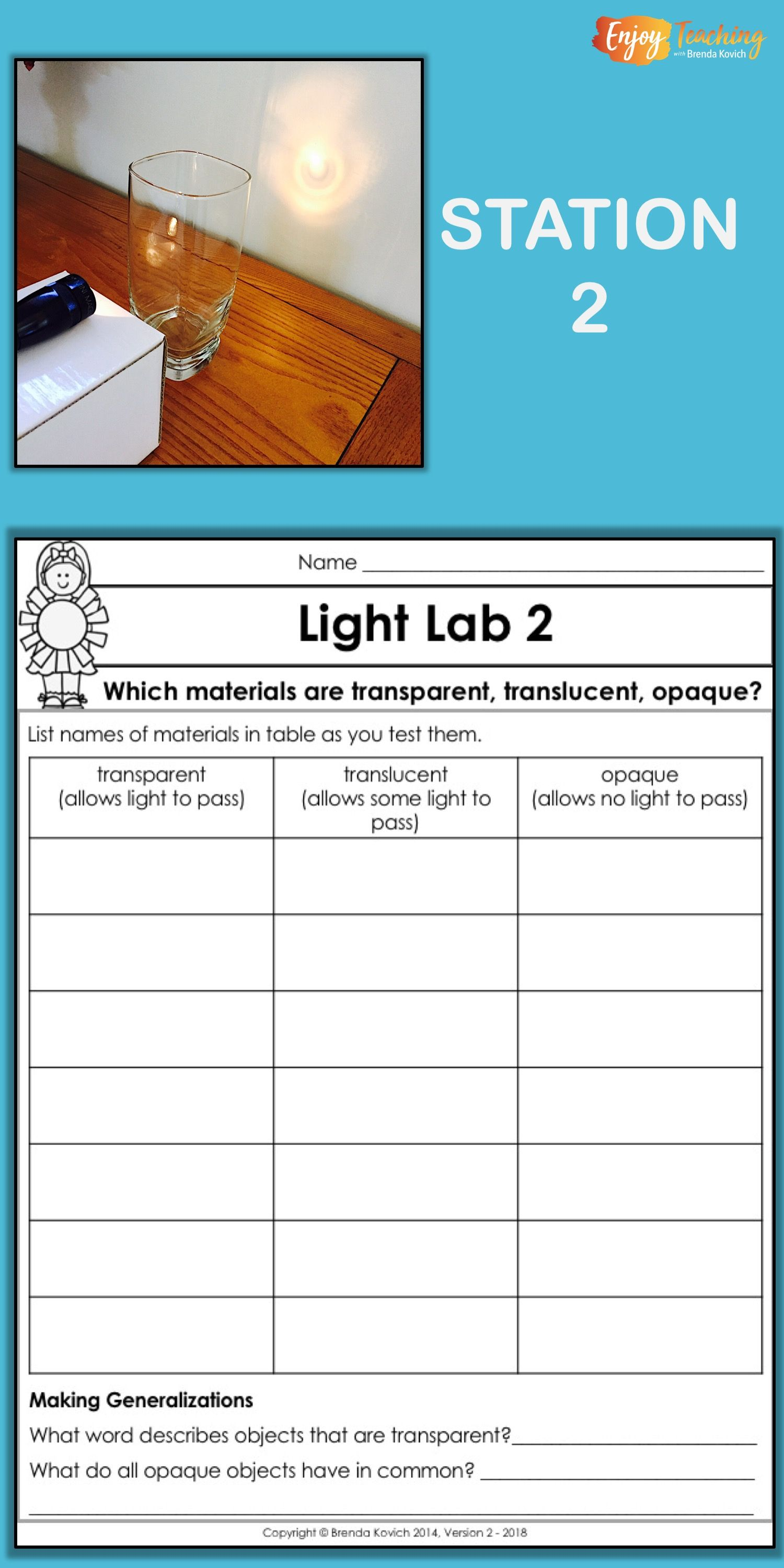 Enjoy Teaching Light With Physics Activities For Kids