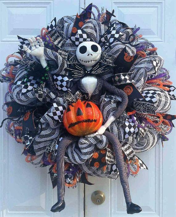 xl halloween king wreathjack by