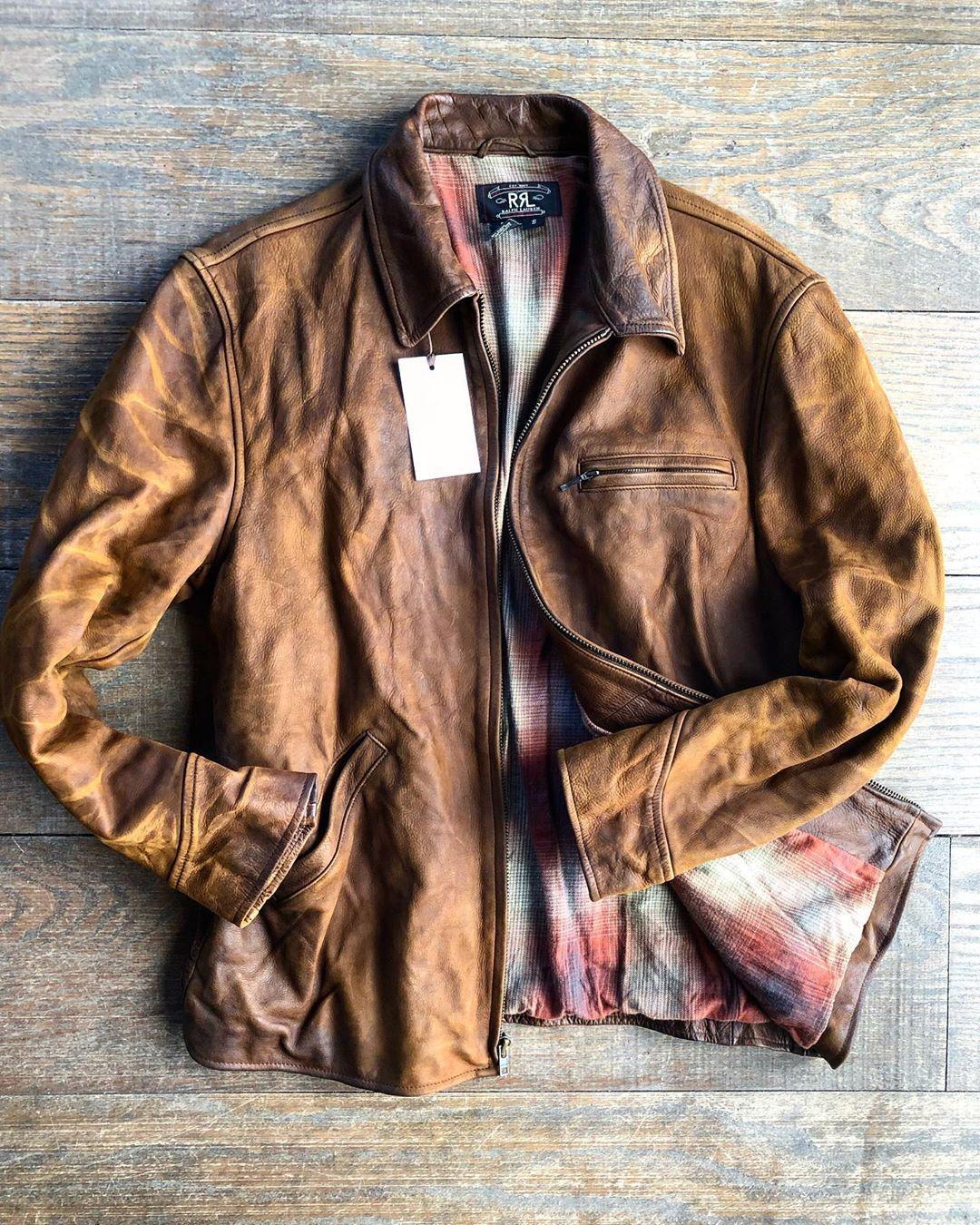 Rrl Leather Jacket Rrl Jacket Leatherjacket Ralphlauren Atl Menswear Mensclothing Fashion Fashi Leather Jacket Style Leather Jacket Leather Jacket Men [ 1350 x 1080 Pixel ]