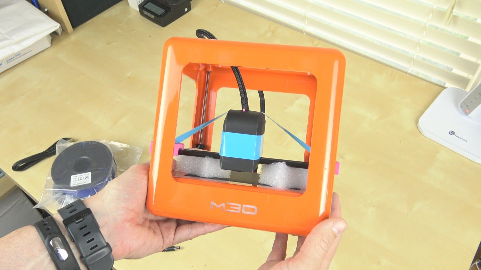 M3D Micro 3D Printer Unboxing and First Print Sample (With
