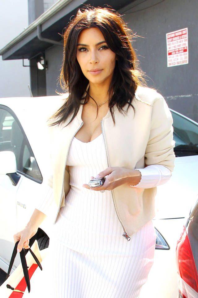Kim Kardashian's Shorter Hair - Fashion News - Harper's BAZAAR Magazine
