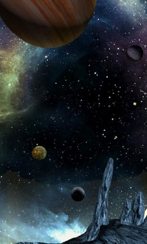 Free 3d Space Wallpapers For Android Devices Outer Space Wallpaper Android Wallpaper Outer Space Drawing