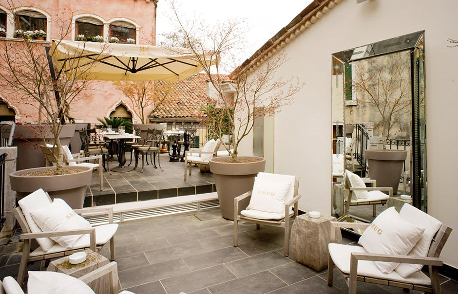 Krug Terrace. PalazzinaG, Venice, Italy. © Palazzina G ...