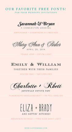 free font binations …
