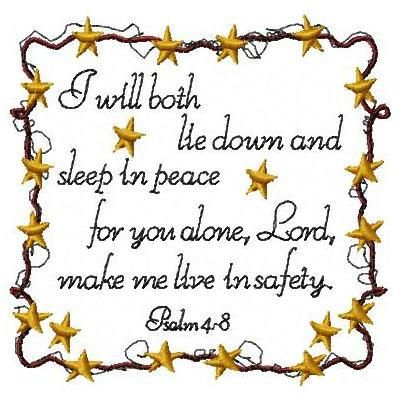 FB page - Godly Woman Daily ♥  Psalm 4:8