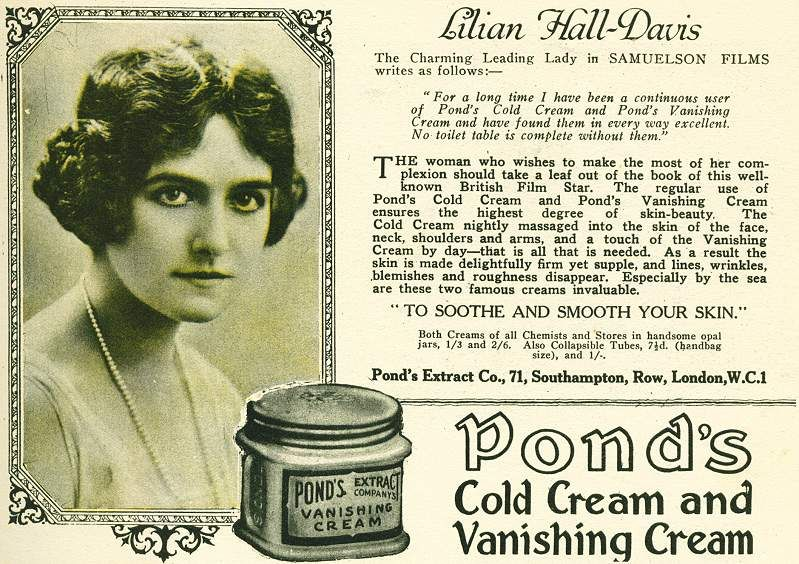 1920s hair style 1950s ponds advert search 2273 | 0b68bcda2273ff258823f81a5b14c5e4