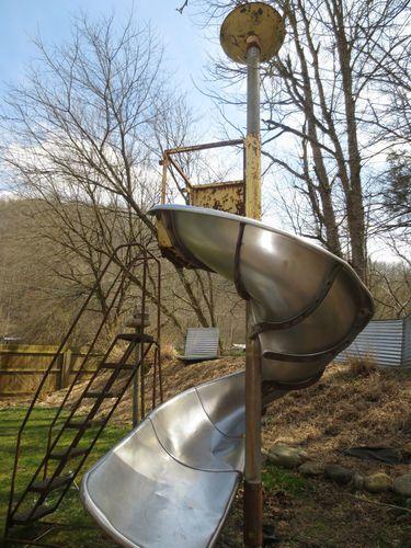 Best Awesome Vintage Playground Spiral Slide Ride Toy 400 x 300