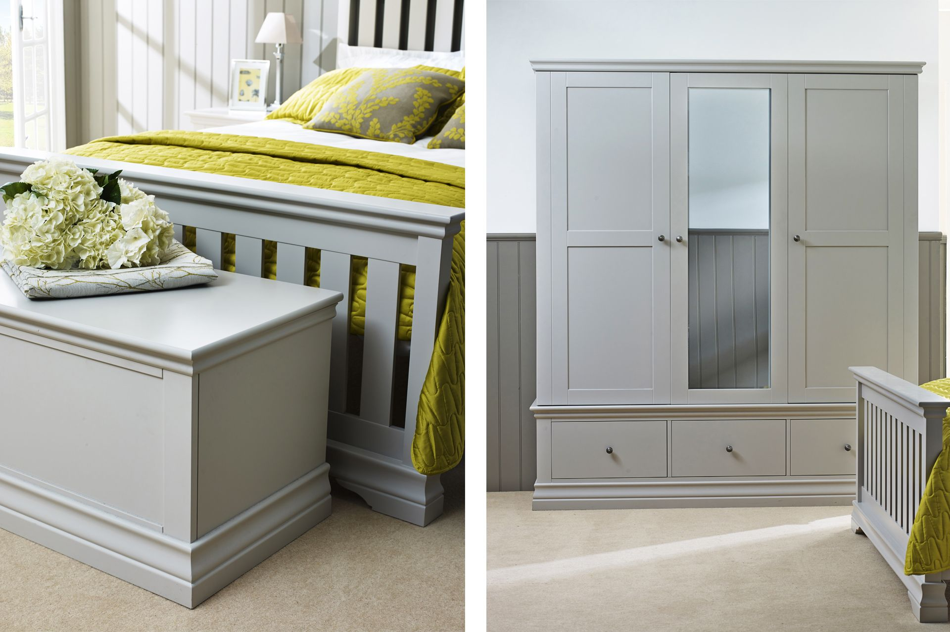 corndell annecy painted bedroom furniture | corndell annecy range