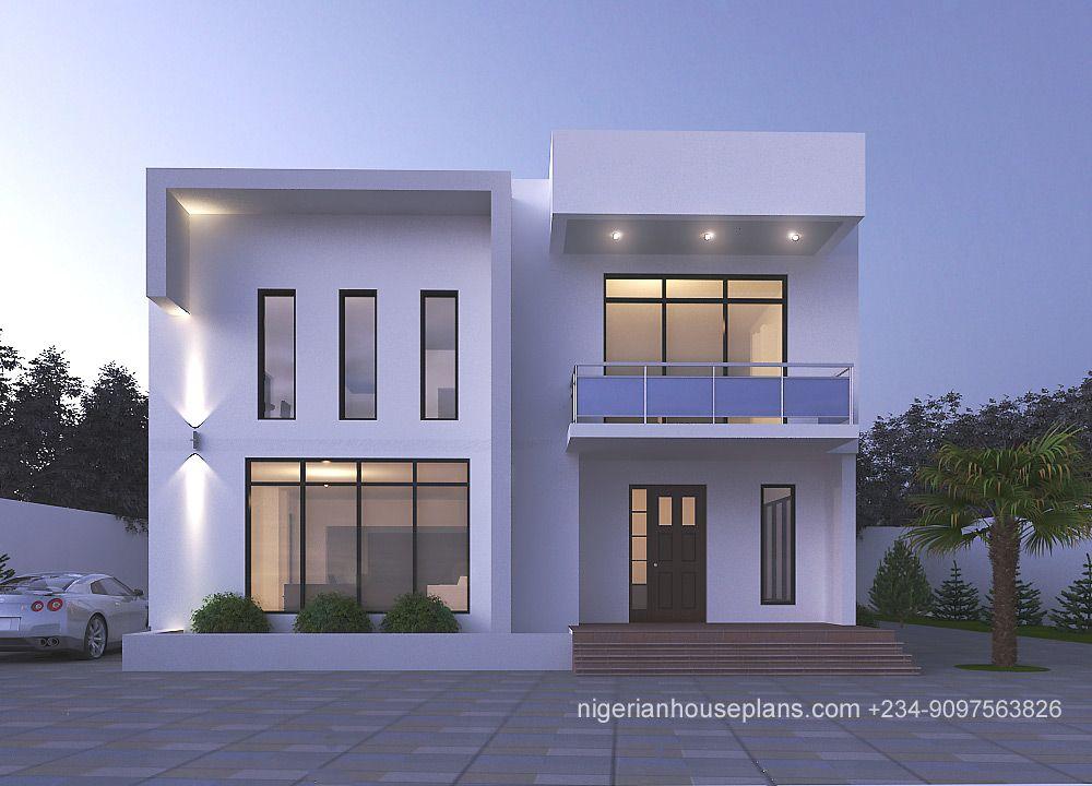 Modern Contemporary Nigeria House Design Small House Floor Plans Bungalow House Design Duplex House Design