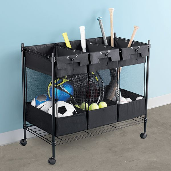 For Storing Everything From Sporting Equipment To Pool Toys, Our Heavy Duty  Triple Storage