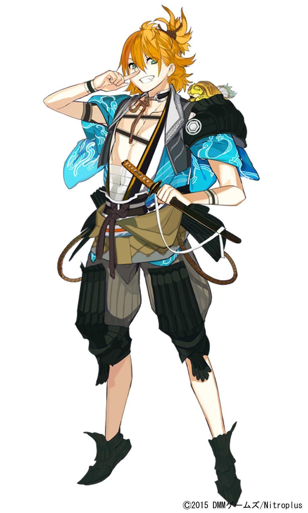 Urashima Kotetsu Touken ranbu characters, Anime