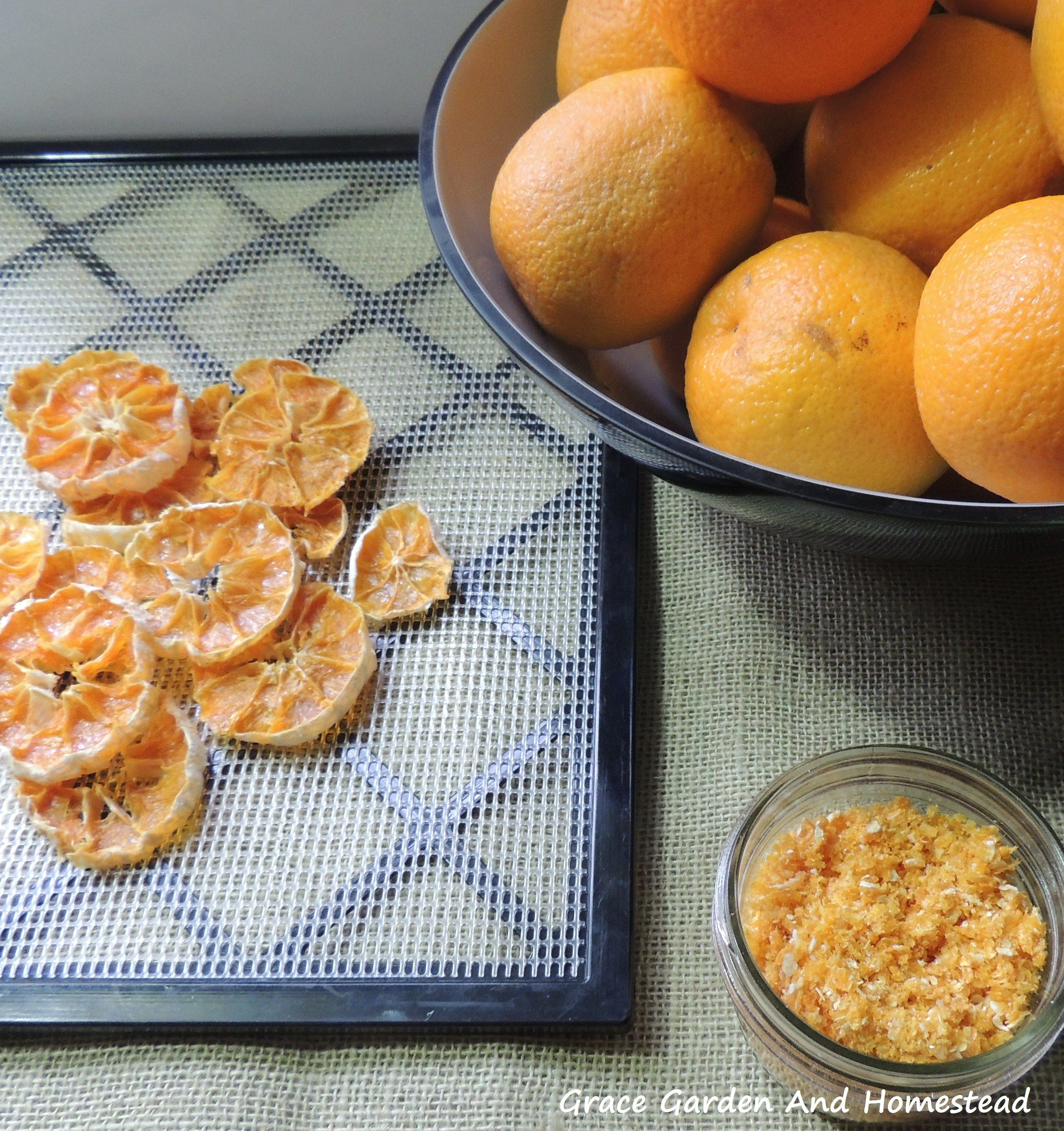 How to Dehydrate Oranges