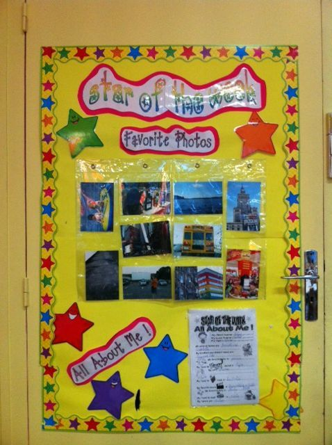 L Univers De Ma Classe Star Of The Week Star Of The