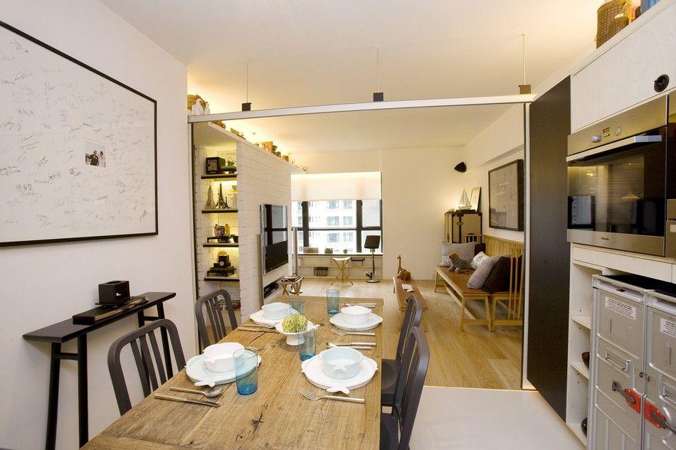 This Hong Kong apartment and its sliding doors takes advantage of ...