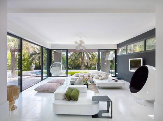 Grande tendance déco : le blanc du sol au plafond - Elle Décoration