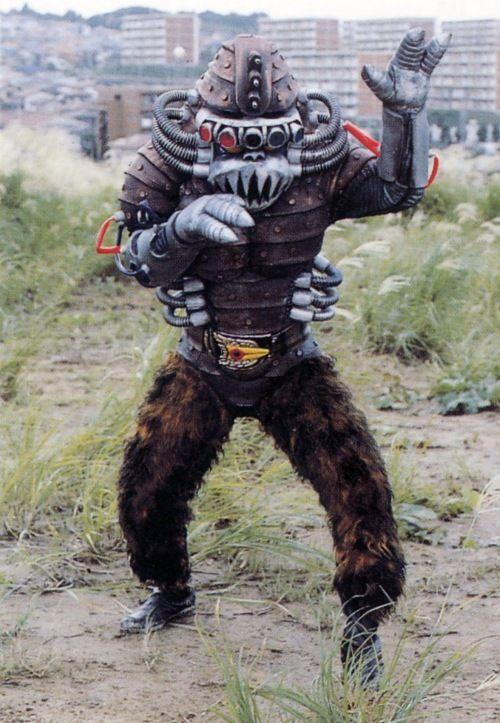 tarantula monster wearing reeboks