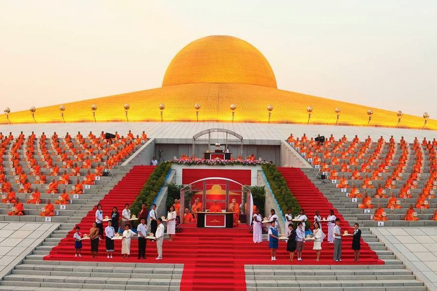 Mail2day Beautiful Wat Phra Dhammakaya Temple In Thailand 26 Pics