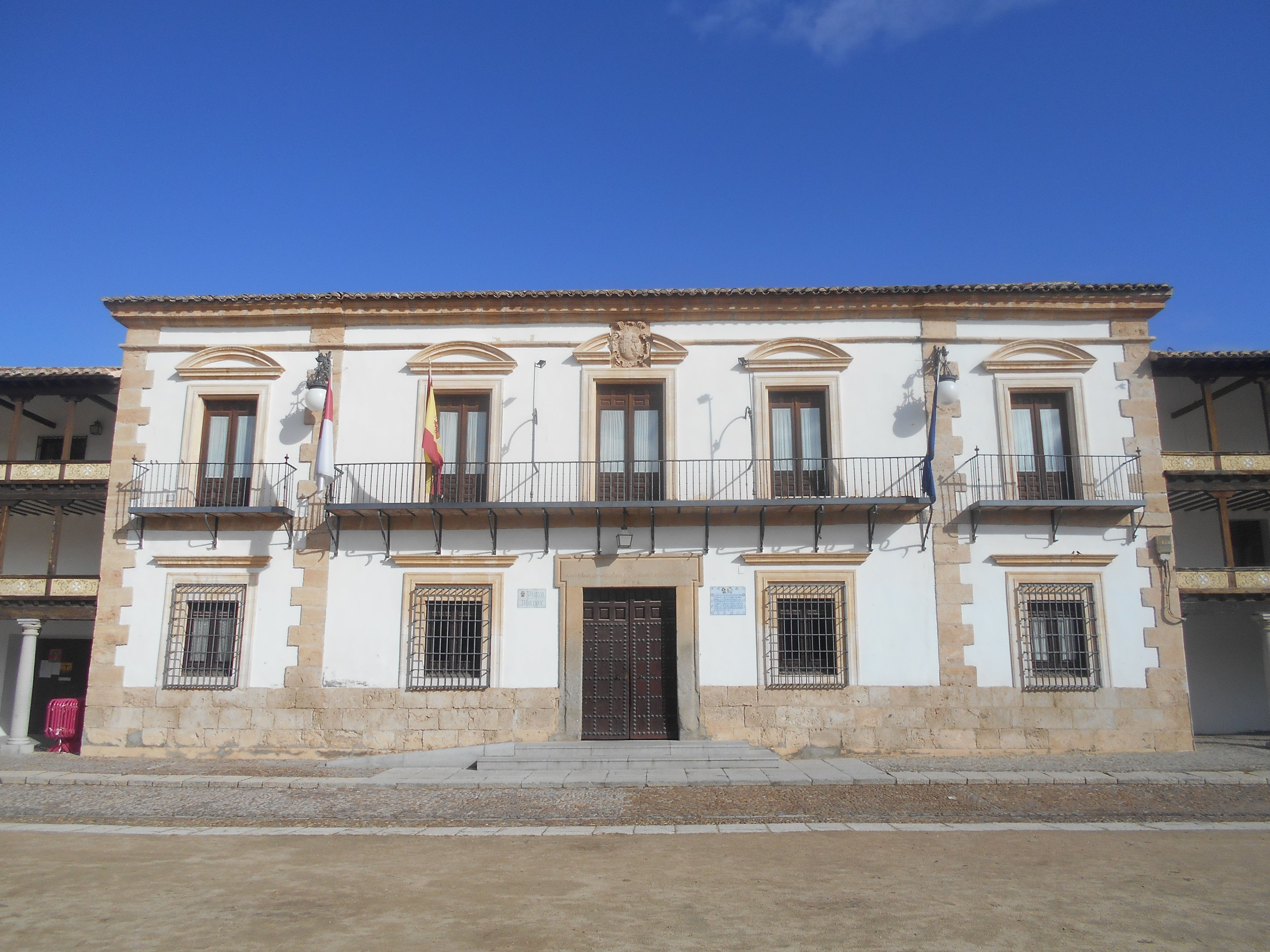 Plaza Mayor. Casa Consitorial. Siglo XVII