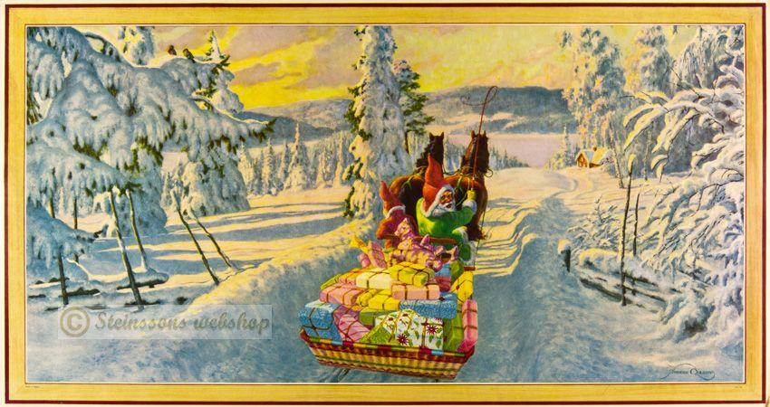 Stor julbonad - ,gammal, 1940-50talet, Anders Olsson