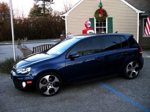 2011 Vw Gti Shadow Blue Mk6 Gti Volkswagen Gti Gti