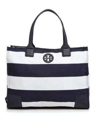 20f503c3c2d Tory Burch Packable Ella Tote | Bloomingdale's | Wish List | Navy ...