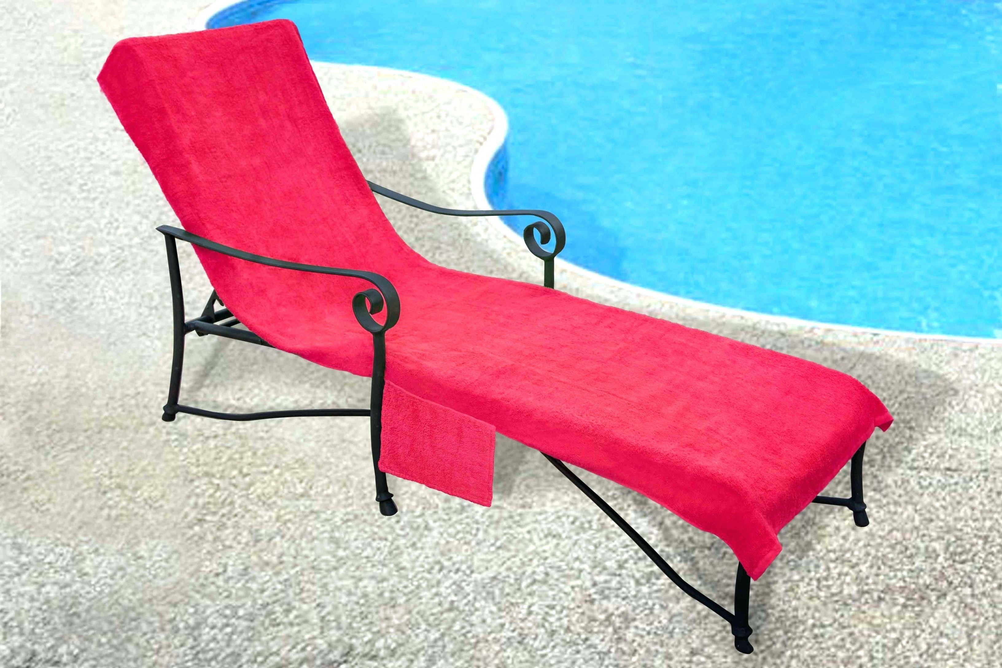 Chair Beach Towels Sun Lounge Chair Cover With Tote Bag Large
