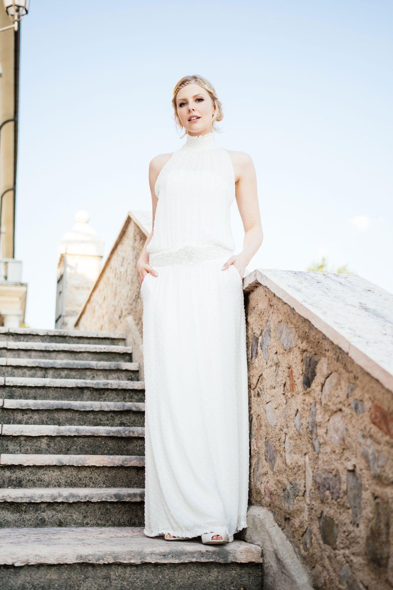 Cool, lässig und definitiv außergewöhnlich – dieses Hochzeitskleid ...