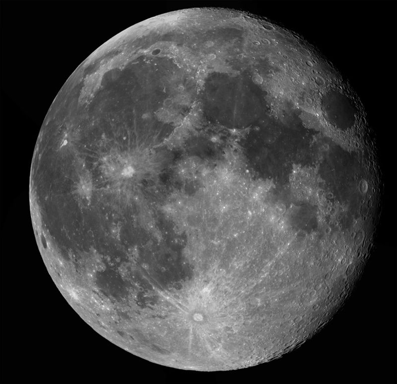 The New Enlightenment Age: Photo     The Waning Full Moon