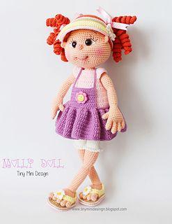Molly Doll crochet pattern - Amigurumi Today | 320x247