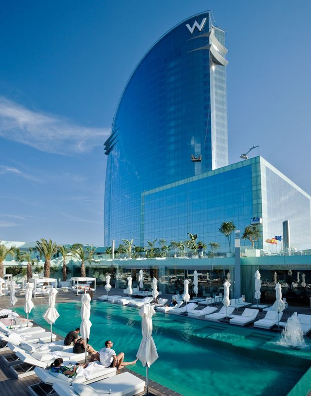 Hotel W Barcelona Ricardo Bofill Taller De Arquitectura Archinect Barcelona Hotels W Hotel Barcelona Dream Hotels