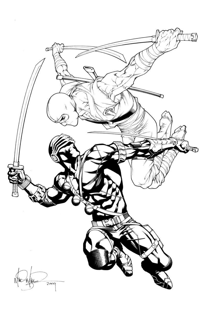 Snake And Storm Commission By Underdogmike Storm Shadow Snake Eyes Gi Joe Gi Joe
