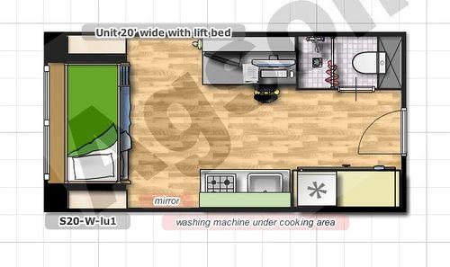 container home container house container unit floor plan layout