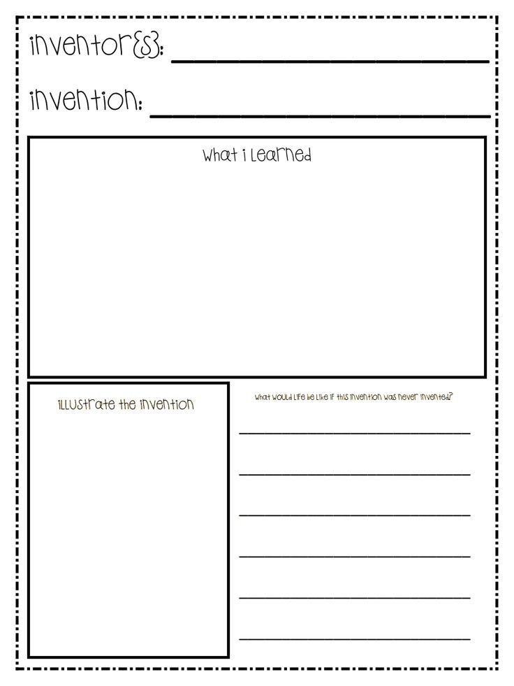 Worksheet for students to display their knowledge of famous - timeline template for kids