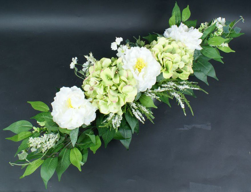 Kompozycja Kwiatowa Stroik Na Grob Wiazanka Duza 7188671840 Oficjalne Archiwum Allegro Funeral Flower Arrangements Floral Art Arrangements Beautiful Flower Arrangements