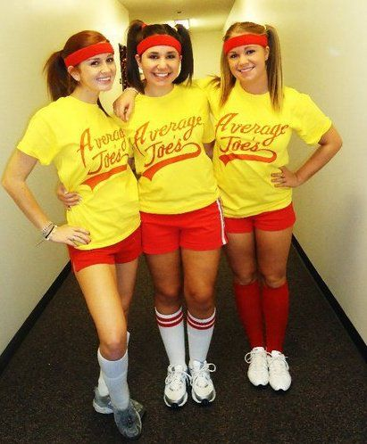 group costumes average joe s dodgeball movie adorbs