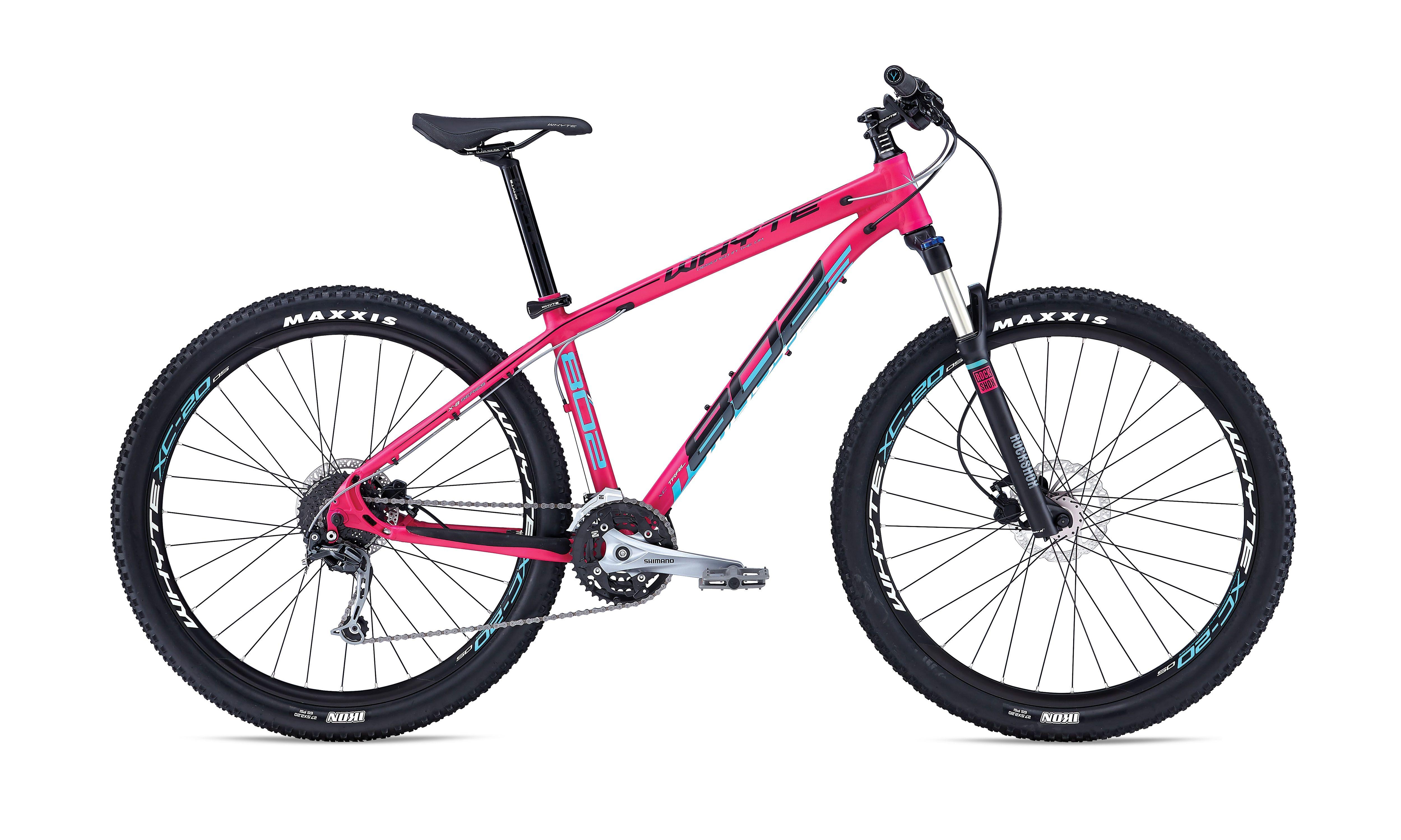 2016 Whyte 802 Womens 650b Hardtail Mountain Bike Pink