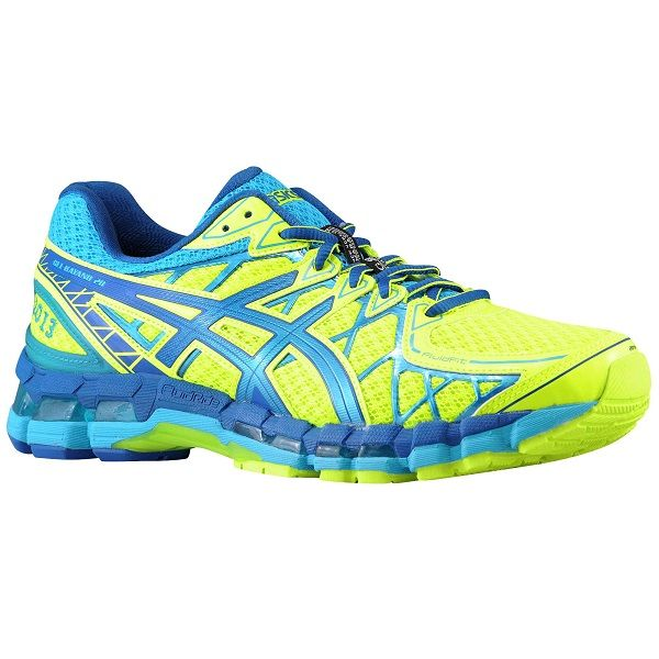 Rakuten 20 Asics Gel Kayano Men 39 S Color Flash Yellow Asics