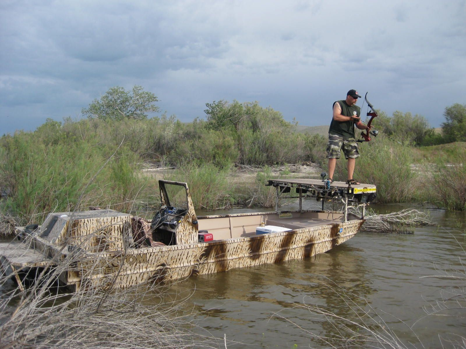 Aluminum river jet boats quotes - The Ultimate Bow Fishing Boat Phantom Sport Jon