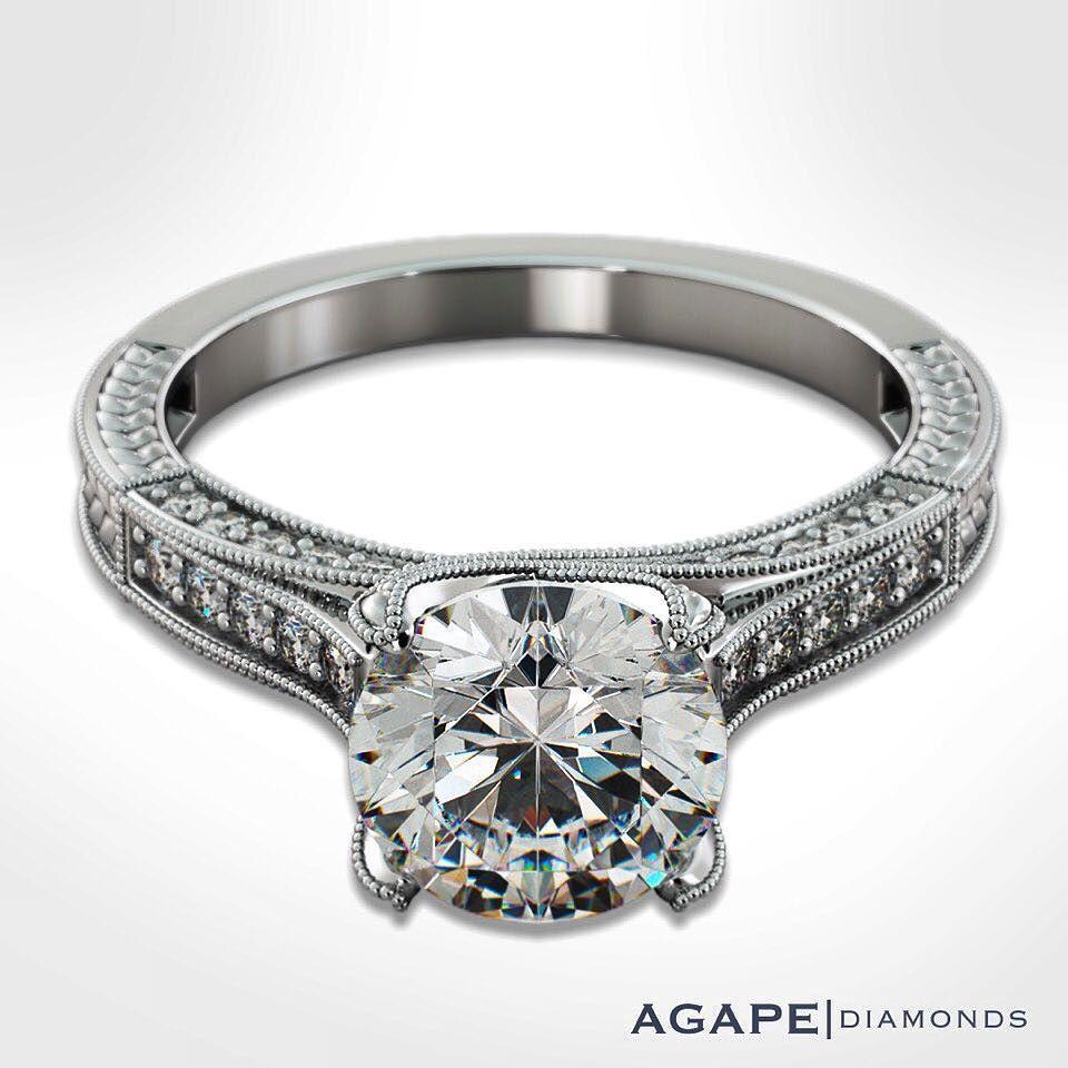 Agape Diamonds Designer Rings Model Jl1006 R Agapediamonds Engaged Engagementring Labdiamonds Diamonds Weddinginsp Engagement Rings Ring Designs Diamond