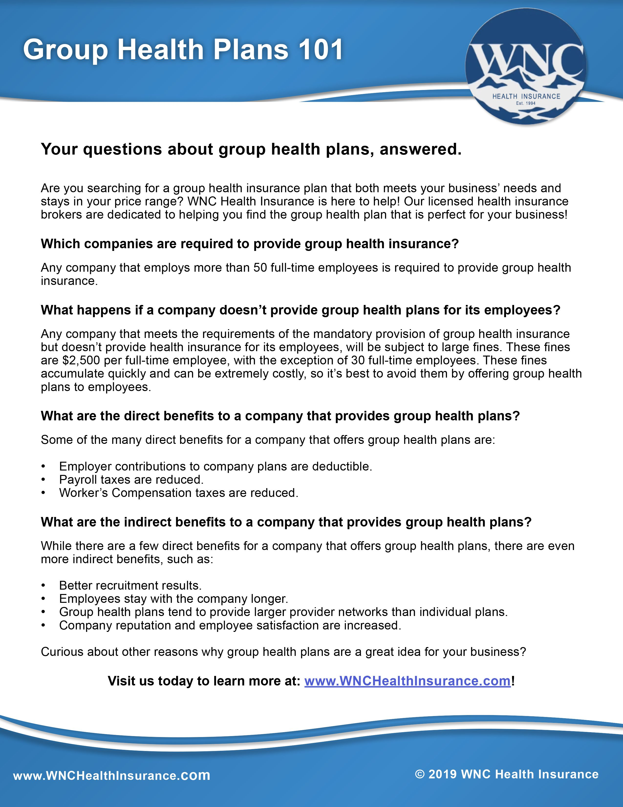 All Of Your Questions About Group Healthinsurance Plans
