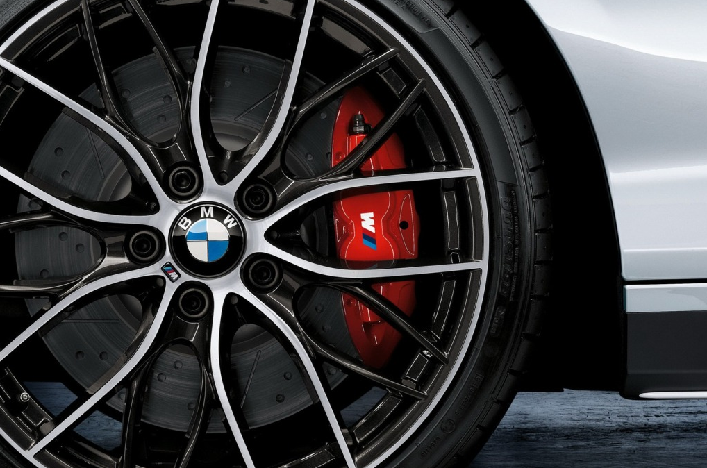 Cross Drilled, Slotted, Painted Caliper and Two-Tone Wheels. | Cars ...