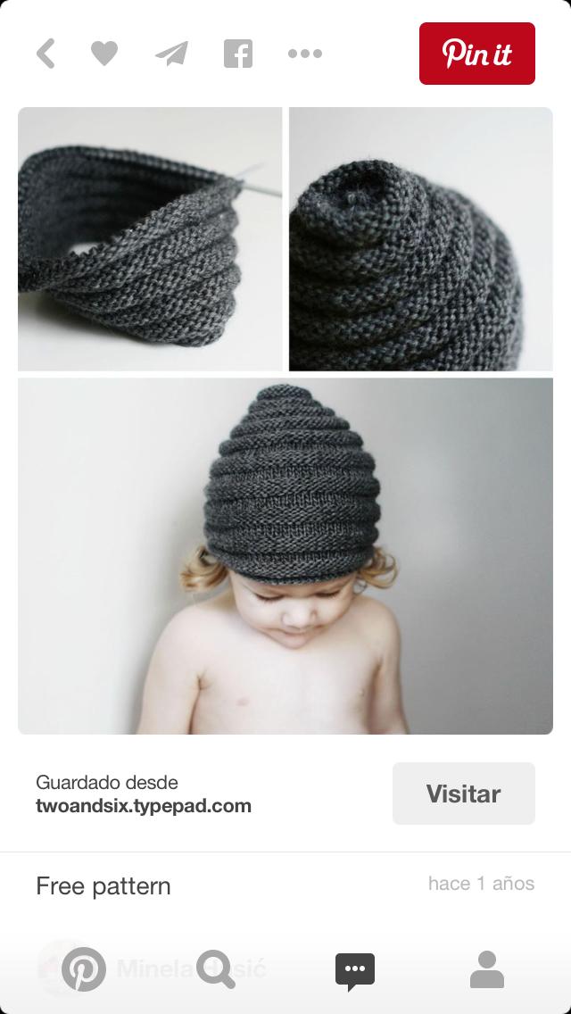 Pin de Mirtha Silva en Gorro niño | Pinterest | Croché, Gorro tejido ...