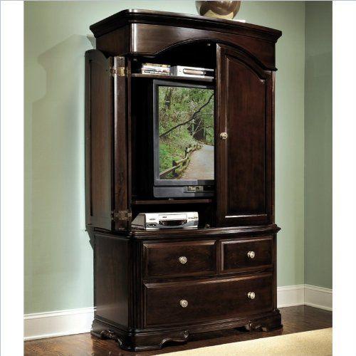 Homelegance Grandover Dark Cherry TV Armoire   List Price: $1,600.00 Price:  $1,446.99 Saving: